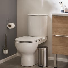 Pachet vas WC duobloc, rotund, autonom, garantie 10 ani • Cooke & Lewis Cavally