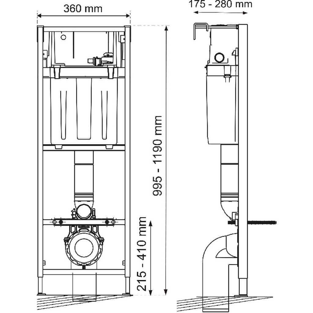 rezervoare diagrama de potrivire a rezervoarelor
