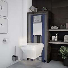 Cadru de toaleta si rezervor incastrat, 360 x 1218 x 280mm, 7 L • Cooke & Lewis Zagar