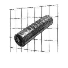 Rola gard din sarma - 1.8 x 25 m - plasa 100 x 75 mm - gri