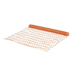 Plasa temporara pentru gard, din plastic, 1 x 10 m, portocaliu