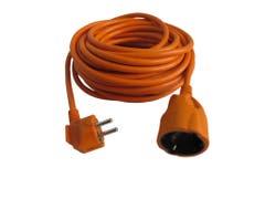 Prelungitor fisa stecar 16A 15 m 1,5 mm2, portocaliu