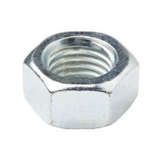 Piulita hexagonala din otel placat cu zinc M20, 10 bucati, DIALL