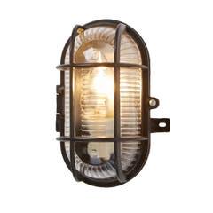 Lampa ovala 60 W, 11 x 13 cm