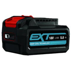 Baterie Erbauer, 18V x 5.0Ah