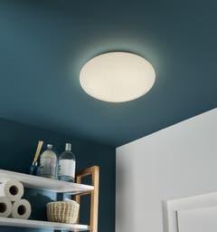 Plafoniera LED, alba, SMD, 9.5 W, 1000 lm, 4000 K, plastic si metal • Colours Leto