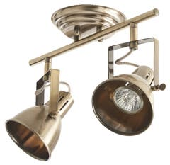 Plafoniera LED, alama, 2 x 66 W, GU10, 230 V, metal • Asterion