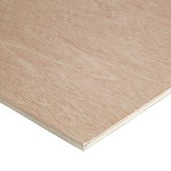 Placaj de lemn, 610 x 12 mm, 1.22 m