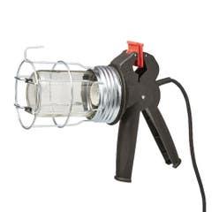 Lampa de lucru din metal cu clema, 60 W, E27