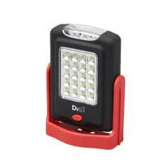 Lanterna cu led Diall, functie dubla, rosie