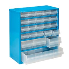 Organizator casetiera metal, 24 organizatoare, 328 x 306 x 150 mm