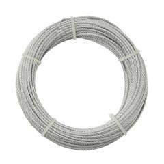Cablu otel, 2 mm x 20 m