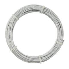 Cablu otel, 4 mm x 10 m
