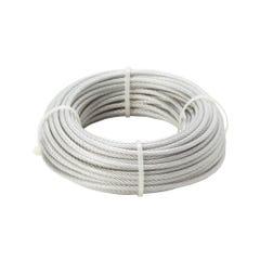 Cablu otel invelis PVC, 3-5 mm x 10 m