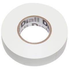 Banda izolatoare Diall, 19 x 33000 mm, alb