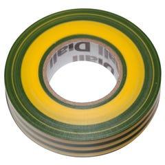 Banda izolatoare Diall, 19 x 33000 mm, galben verde