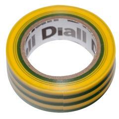 Banda izolatoare Diall, 19 x 10000 mm, galben verde