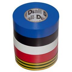 Banda izolatoare Diall, 19 x 33000 mm, mixcolor 5 buc