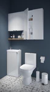 Dulap suspendat, alb, 90 x 60 x 15 cm - Imandra