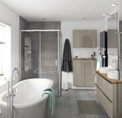 Blat baie, maro, 183 x 45.5 x 2.7 cm • GoodHome