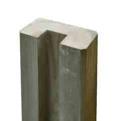 Stalp din lemn pentru gard, 180 cm NEVA