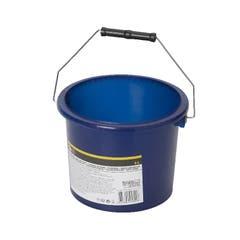 Galeata pentru vopsea plastic, 2 l, albastra • Diall