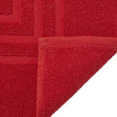 Covoras baie rectangular, rosu, 80 x 50 x cm • Cooke & Lewis