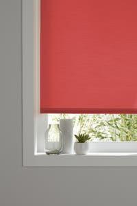 Roleta poliester, rosu, 60 x 240 cm • Colours