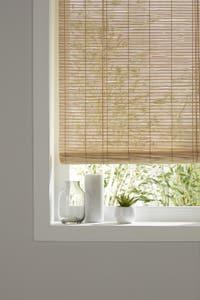Jaluzea bambus, maro, 120 x 150 cm