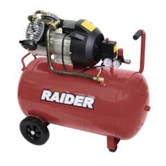 Compresor aer Raider, 100 l, 3 cp, 8 bar, 260 l/min