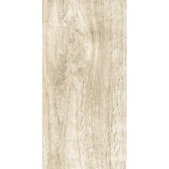 Gresie interior, alb, portelanata, 60 x 30 cm x 7.45 mm, dreptunghiulara, 1.44 mp • Kai Sintra