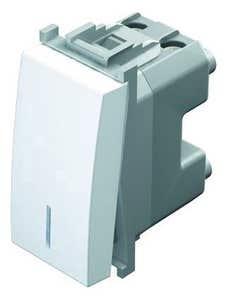 Buton sonerie LED, 10 A, 250 V, alb • Tem Modul
