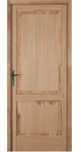 Usa de interior stejar masiv, 204 x 68 cm, dreapta