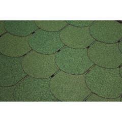 Sindrila bituminoasa solzi Guttatec, 3 mp/pachet, verde