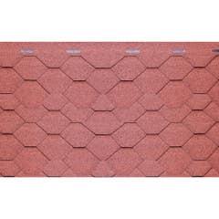 Sindrila bituminoasa hexagonala Guttatec, 3 mp/pachet, rosu
