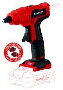 Pistol fara fir, de lipit la cald, PXC TE-CG 18 Li - Solo, baton lipire 11 mm • Einhell