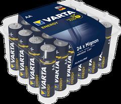 Set 24 baterii alcaline LR06 AA • Varta