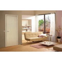 Foaie usa interior PVC reversibila Blank, 60 x 200 cm, stejar alb