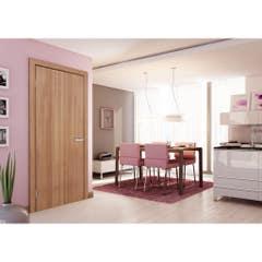 Foaie usa interior PVC reversibila Blank, 80 x 200 cm, stejar auriu