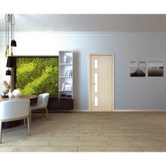Foaie usa interior PVC reversibila Solo, 80 x 200 cm, stejar alb