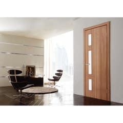 Foaie usa interior PVC reversibila Solo, 80 x 200 cm, stejar auriu
