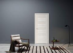 Foaie usa interior, reversibila, 200 x 80 cm, alb • Rino