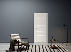 Foaie usa interior, reversibila, 200 x 70 cm, alb • Rino