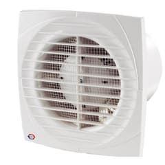 Ventilator cu intrerupator Vents, 100 mm, 14 W, 150 x 120 x 108.5 mm