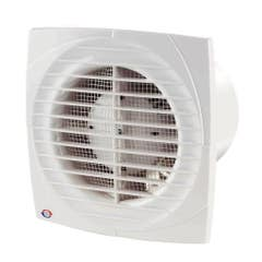 Ventilator cu intrerupator Vents, 125 mm, 16 W, 176 x 140 x 114 mm