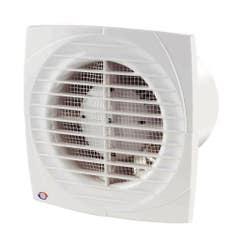Ventilator cu timer Vents, 125 mm, 16W, 176 x 140 x 114 mm