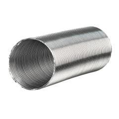 Tub flexibil hota evacuare, aluminiu, 120 mm x 1-3 m, argintiu