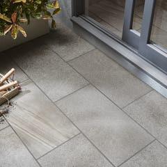 Gresie exterior, gri, incaperi multiple, 62 x 310.74 mm, 1.54 mp/cutie • English stone