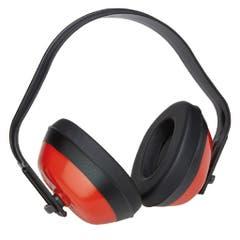 Casti antifonate pentru urechi, rosu