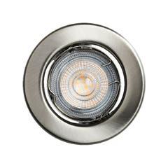 SB SET 5 SPOTURI CROM LED 8.5CM